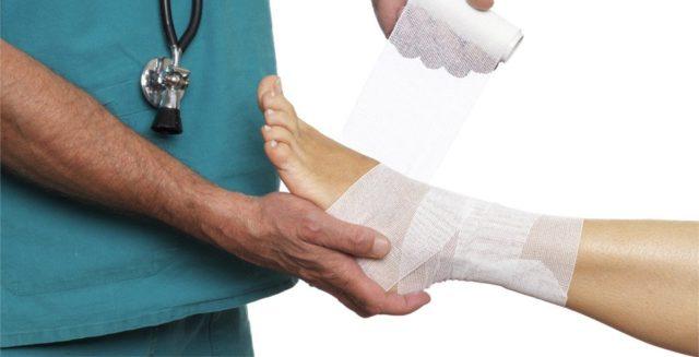 Важно поберечь сустав, строго соблюдать все предписания врача