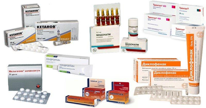 Какие лекарства принимать при артрозе