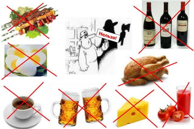 Употреблять в пищу продукты с наименьшим содержанием или отсутствием пуринов