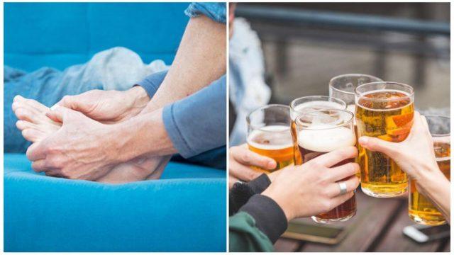 Одни пьют вино, другие употребляют некрепкое пиво или настойки домашнего приготовления